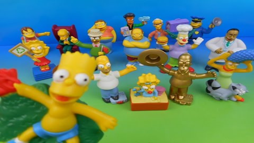 2007 The Simpsons Movie Set Of 16 Burger King Kid S Meal Toy S